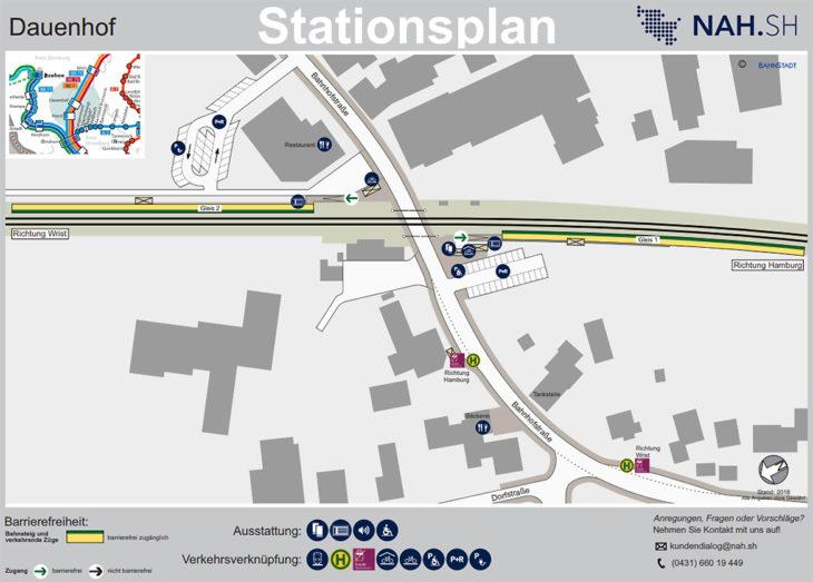 So sehen die neuen Stationspläne an den Bahn-Haltestellen in Schleswig-Holstein aus