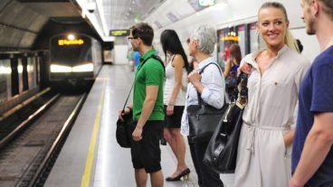 U-Bahnof in Wien
