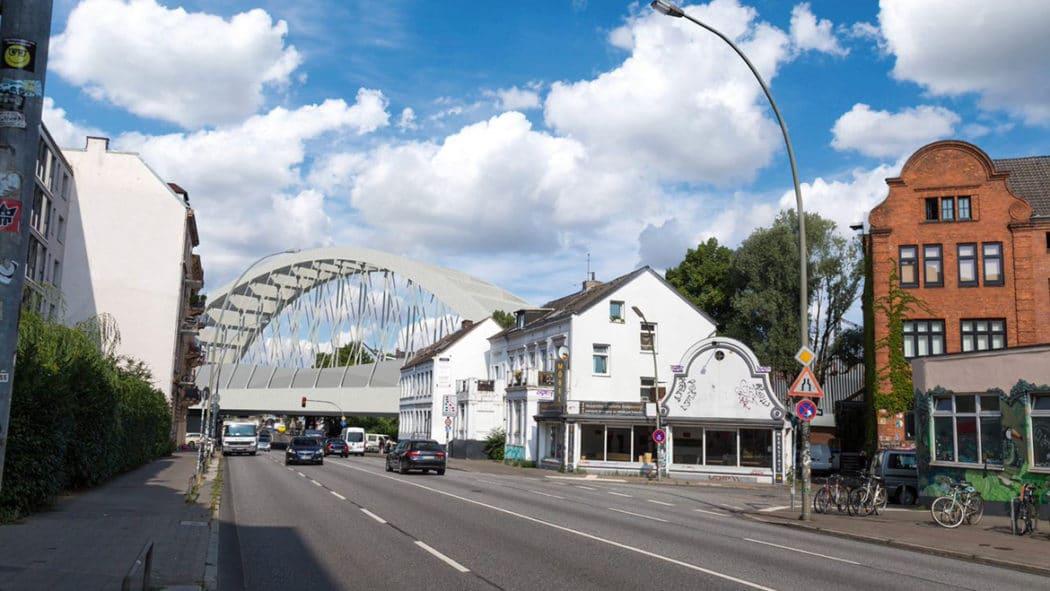 So soll die neue Sternbrücke in Hamburg aussehen